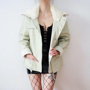 RUDSAK Vintage Leather And Fur Jacket